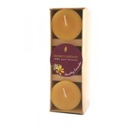 Bougies parfumées aux huiles essentielles pays lavande