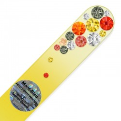 Nail File Fire Opal Swarovski®elements crystals
